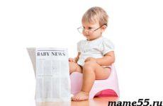 Как приучить ребенка к горшку? Влияние подгузников на приучение
