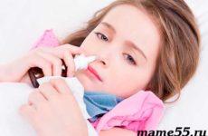 Нужны ли сосудосуживающие капли в нос для детей при насморке?