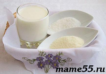 как сварить вкусную манную кашу на молоке пропорции