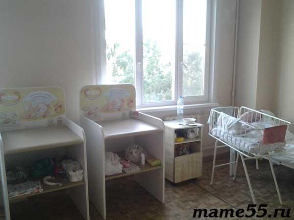 Палата мать и дитя роддом 6 Омск