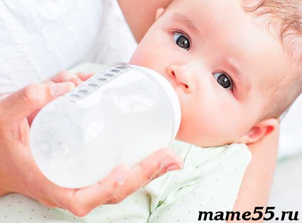 Причины возникновения молочницы у грудничка