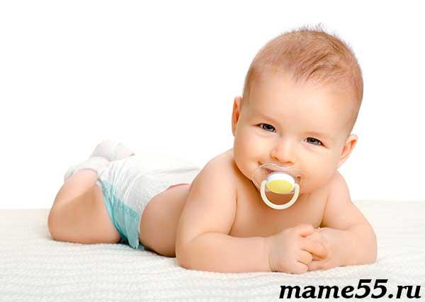 Соска-пустышка для новорожденного за и против
