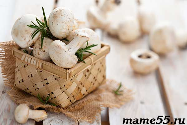 С какого возраста детям можно грибы