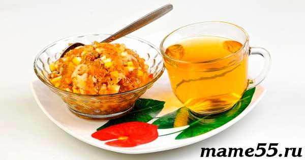 Витаминная смесь из кураги чернослива орехов изюма лимона и меда