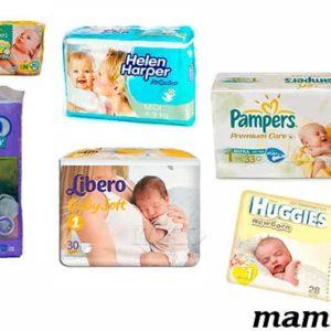 Какие памперсы лучше для новорожденных? Рейтинг подгузников