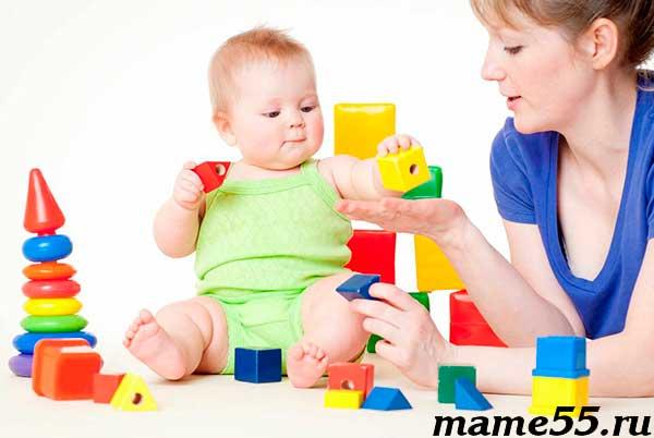 Развитие мелкой моторики у детей раннего возраста до 1 года