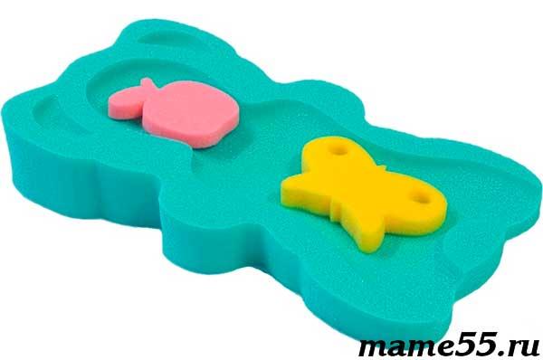 Матрасик-губка для купания