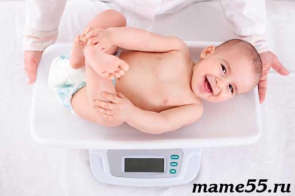 Сколько должен весить ребенок в год