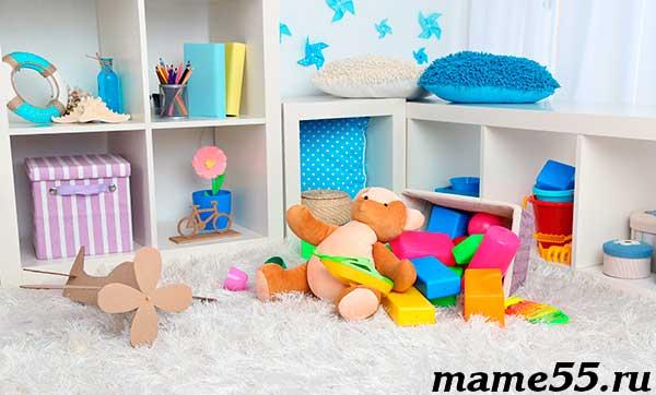 Организация хранения игрушек
