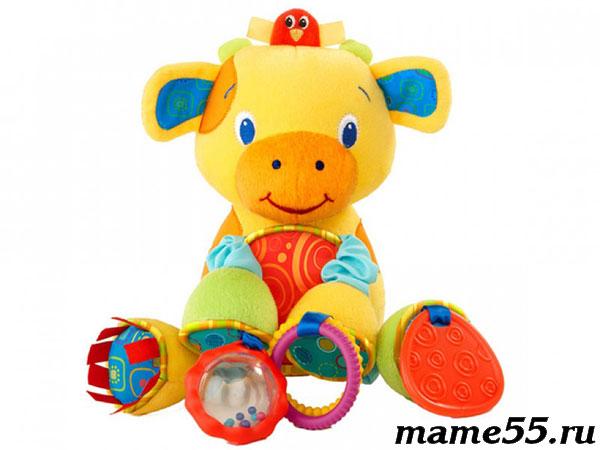 Особенности игрушек для детей до года
